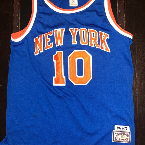 a15c455e Mitchell & Ness Shirts | Nba New York Knicks Mitchell Ness Walt ...